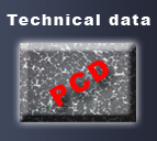 PCD - technical data